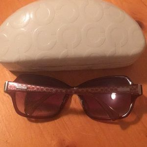 Coach Accessories - Coach glasses in case!